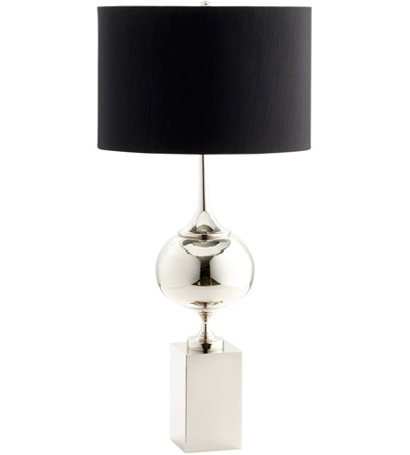 Cyan design 05295 epic 39 inch 100 watt nickel table lamp for 100 watt table lamps