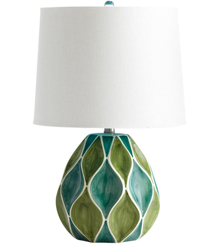 Cyan Design Green Table Lamps