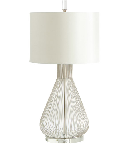 Satin Nickel Iron Table Lamps
