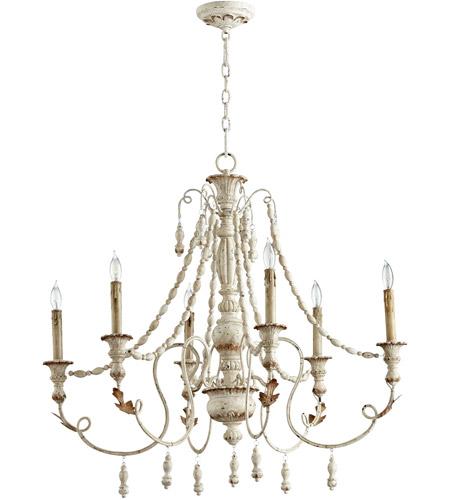 Cyan design 06576 lyon 6 light 33 inch persian white chandelier cyan design 06576 lyon 6 light 33 inch persian white chandelier ceiling light photo aloadofball Gallery