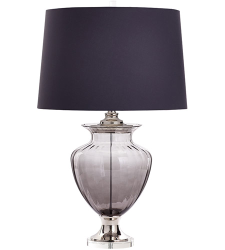 Grey Crystal Table Lamps