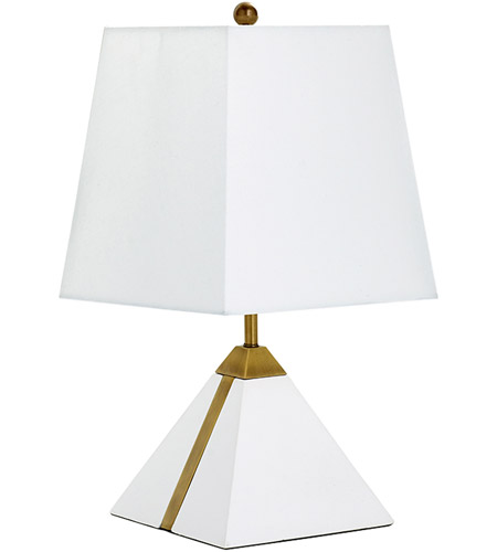 Brass Linen Table Lamps