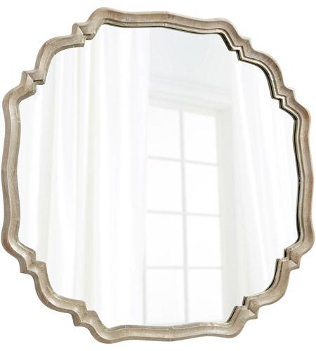 Cyan Design 08229 Medallion 48 X 48 Inch Silver Oxide Wall Mirror