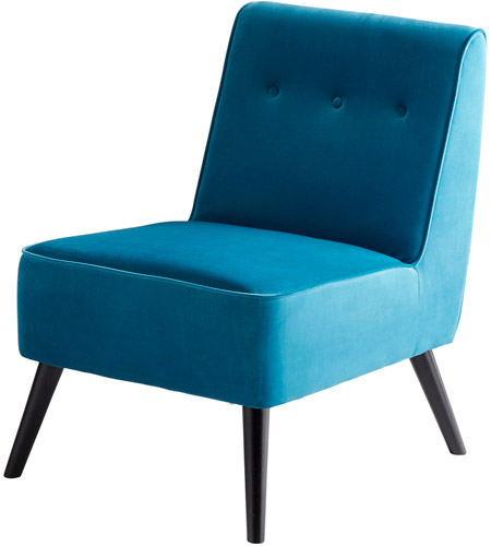Swell Cyan Design 08343 Cerulean Seas Blue Chair Gmtry Best Dining Table And Chair Ideas Images Gmtryco