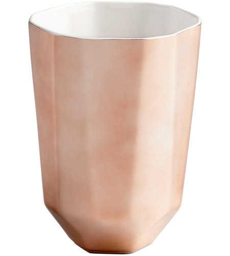 Cyan Design 08477 Neoteric Copper Outdoor Planter, Small photo