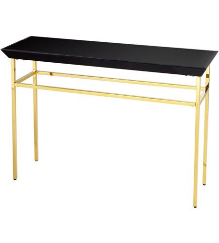 Cyan design 08583 calzada 48 x 16 inch polished gold for 48 inch sofa table