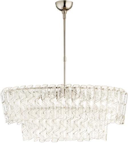 Cyan design 09667 cannoli 8 light 21 inch polished nickel chandelier cyan design 09667 aloadofball Images