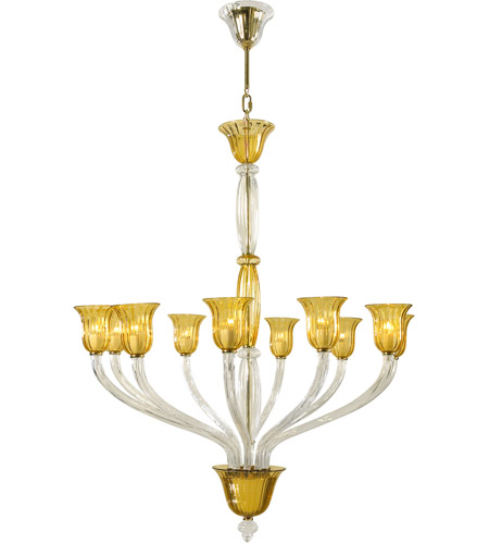 Cyan design 6509 10 00 vetrai 10 light 46 inch gold chandelier cyan design 6509 10 00 vetrai 10 light 46 inch gold chandelier ceiling light aloadofball Image collections
