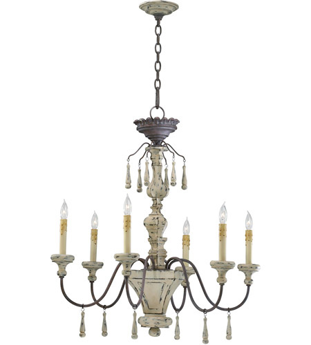 Cyan Design 6513 6 43 Provence Light 30 Inch Carriage House Chandelier Ceiling