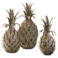 Variegated Pineapples Multi-Color Sculpture