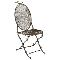 Bird Muted Rust Chair