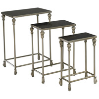 Livingston 19 X 12 inch Antique Silver Nesting Table Home Decor
