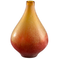 Vizio Yellow and Orange Vase, Medium