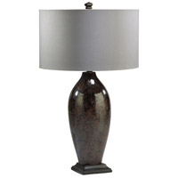 Brown Silk Table Lamps