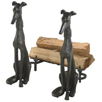 Dog Canyon Bronze Andiron