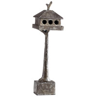 Cyan Design 01873 Bird House 12 X 2 inch Sculpture, Small