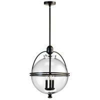 Cyan Design 01921 Ornamental Ball 3 Light 20 inch Old World Pendant Ceiling Light