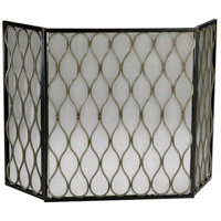Gold Mesh 49 X 30 inch Fire Screen