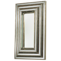 Plaza 41 X 25 inch Antiqued Gold Mirror Home Decor