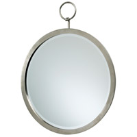 Hanging Polished Chrome Mirror Home Decor, Round