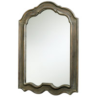 Kathryn 39 X 29 inch Distressed Gray Mirror Home Decor