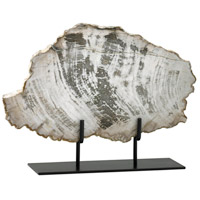Cyan Design 02600 Petrified Wood On Stand Oak Sculpture Large