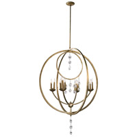 Cyan Design 02618 Emilia 16 Light 36 inch Silver Leaf Chandelier Ceiling Light