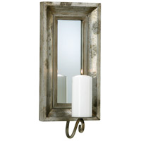 Abelle 9 inch Estruscan Slate Candle Sconce Wall Light, Candle(s) not included