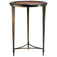 Paloma Ebony and Mahogany Side Table Home Decor