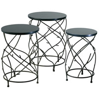 Branch Canyon Bronze Drum Table Home Decor