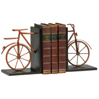 Bicycle 6 X 5 inch Muted Rust Bookends