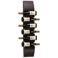 Cyan Design 02797 Signature Mahogany Wall Wine Storage