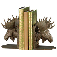 Moosehead 6 X 5 inch Bronze Bookends