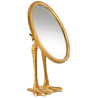 Duck Leg 13 X 7 inch Gold Mirror Home Decor