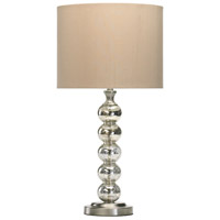 Burnish 26 inch 100 watt Gold Table Lamp Portable Light