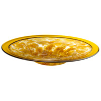 Catalan Amber Plate, Large