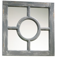 Ashford 17 X 17 inch Distressed Gray Mirror Home Decor