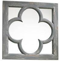 Ashwell 17 X 17 inch Distressed Gray Mirror Home Decor