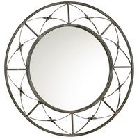 Parker Rustic Gray Mirror Home Decor