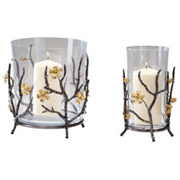 Cyan Design 04355 Botanica Raw Steel and Gold Container, Large