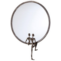 Kobe 25 X 18 inch Raw Steel Mirror Home Decor, No. 1