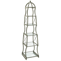 Chester Rustic Gray Etagere