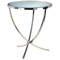 Nuovo Chrome Foyer Table Home Decor