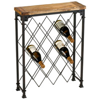 Cyan Design 04542 Hudson Rustic Wine Rack