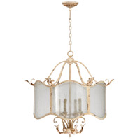 Cyan Design 04634 Maison 4 Light 29 inch Persian White Nook Chandelier Ceiling Light