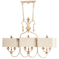 Maison 6 Light 42 inch Persian White Island Light Ceiling Light