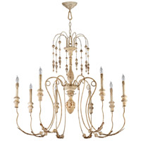 Maison 8 Light 41 inch Persian White Chandelier Ceiling Light