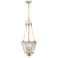 Cyan Design 04640 Maison 3 Light 14 inch Persian White Foyer Pendant Ceiling Light