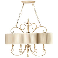 Cyan Design 04641 Maison 4 Light 43 inch Persian White Island Light Ceiling Light