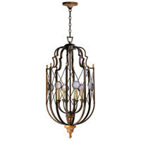 San Giorgio 8 Light 20 inch Oiled Bronze Foyer Pendant Ceiling Light